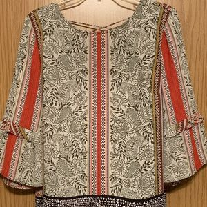 DR2 Daniel Rainn Boho Blouse Medium